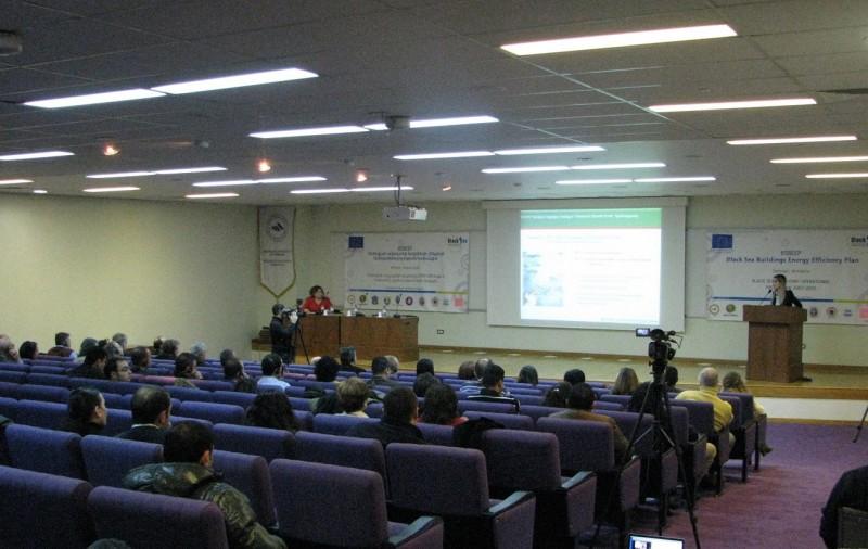 Enerji Verimliliği Proje Toplantısı Erivan'da gerçekleşti