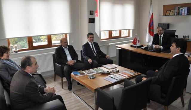 Burgas Valisi Marinov Trakyakent'in davetlisi olarak Tekirdağ'da