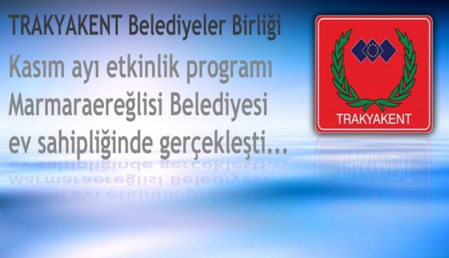 Trakyakent Eğitim Programı Marmaraereğlisi'nde yapıldı